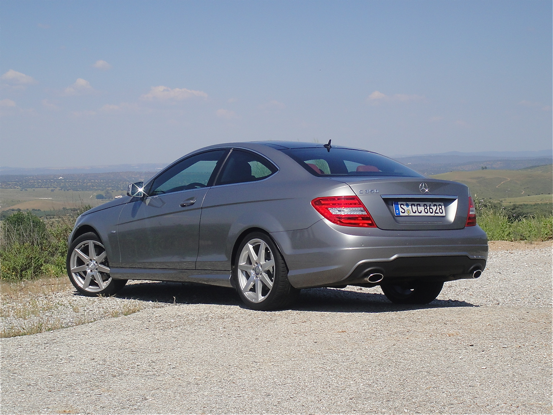 First drive 2012 mercedes benz c class coupe john for Mercedes benz s class 2012
