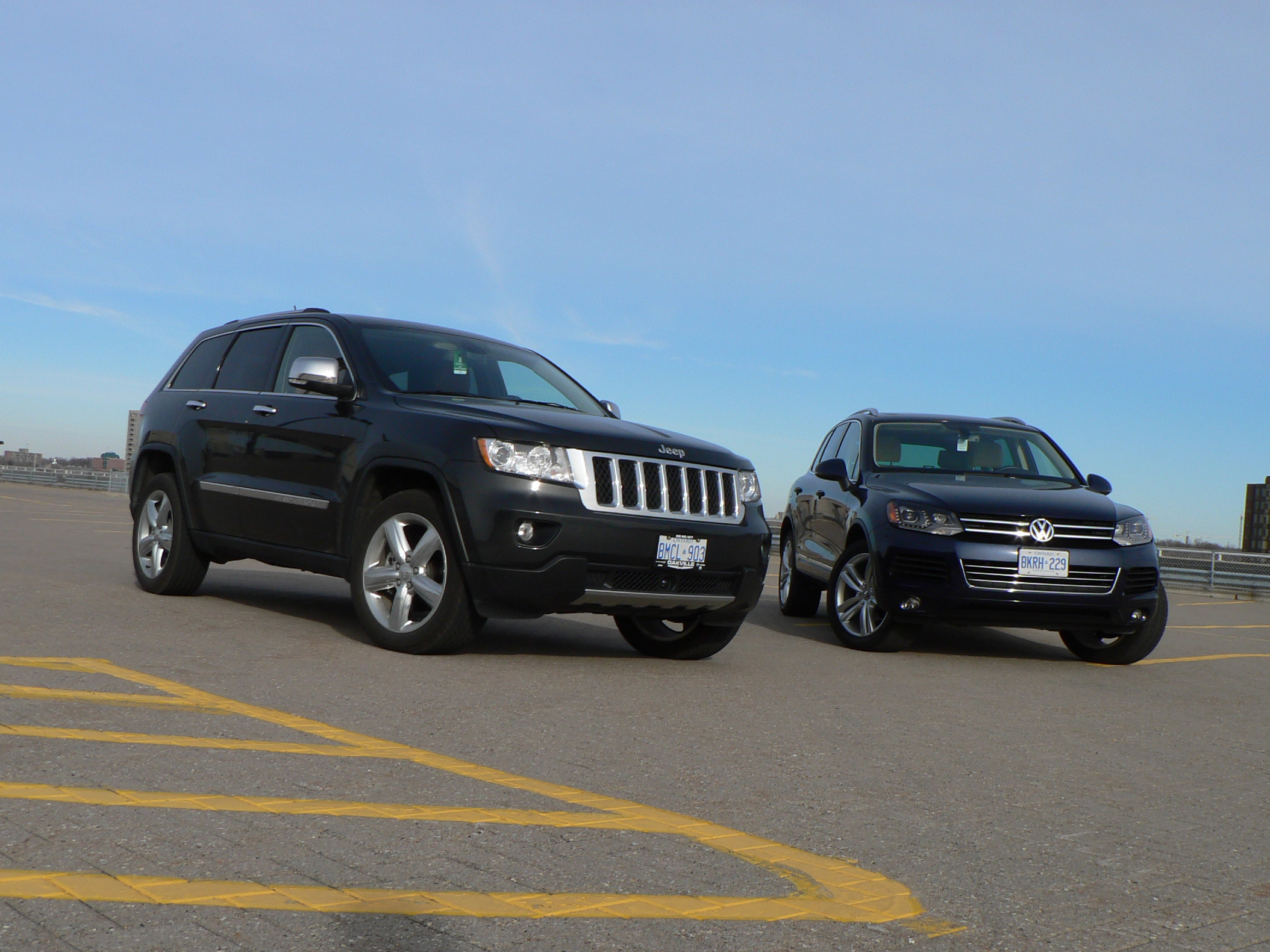 comparo 2012 jeep grand cherokee vs volkswagen tiguan john leblanc 39 s straight six