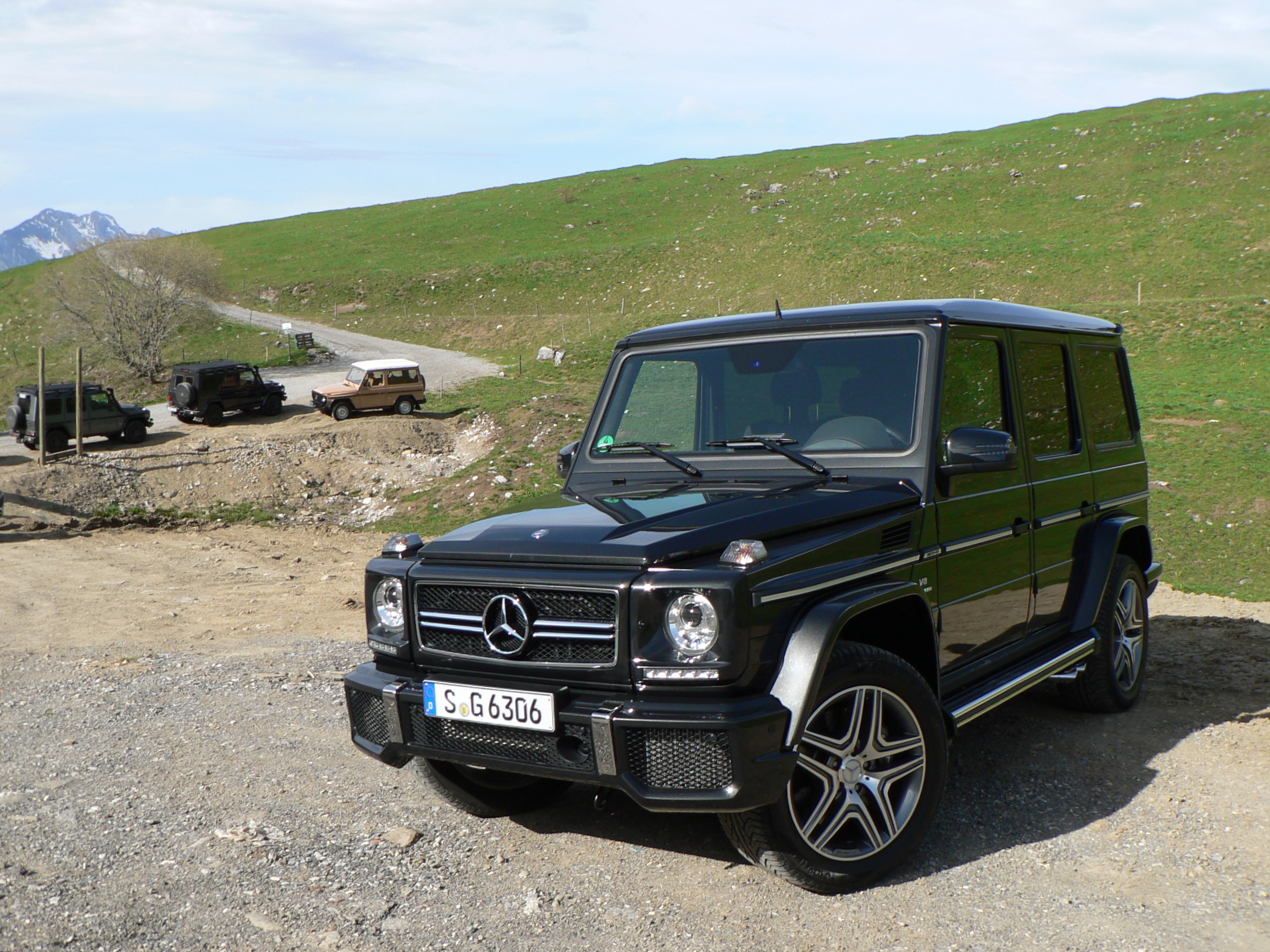 First Drive & Video: 2013 Mercedes-Benz G 63 AMG : John LeBlanc's ...