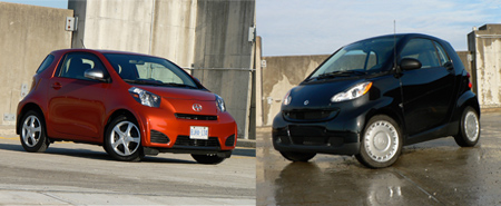 Comparo 2012 Scion Iq Vs Smart Fortwo John Leblanc S Straight Six