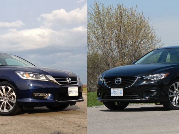 comparo 2013 honda accord sport vs 2014 mazda mazda6 gs. Black Bedroom Furniture Sets. Home Design Ideas