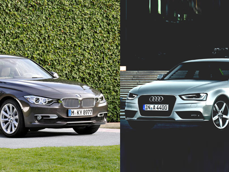 comparo 2013 bmw 328i xdrive vs audi a4 2 0 tfsi quattro. Black Bedroom Furniture Sets. Home Design Ideas