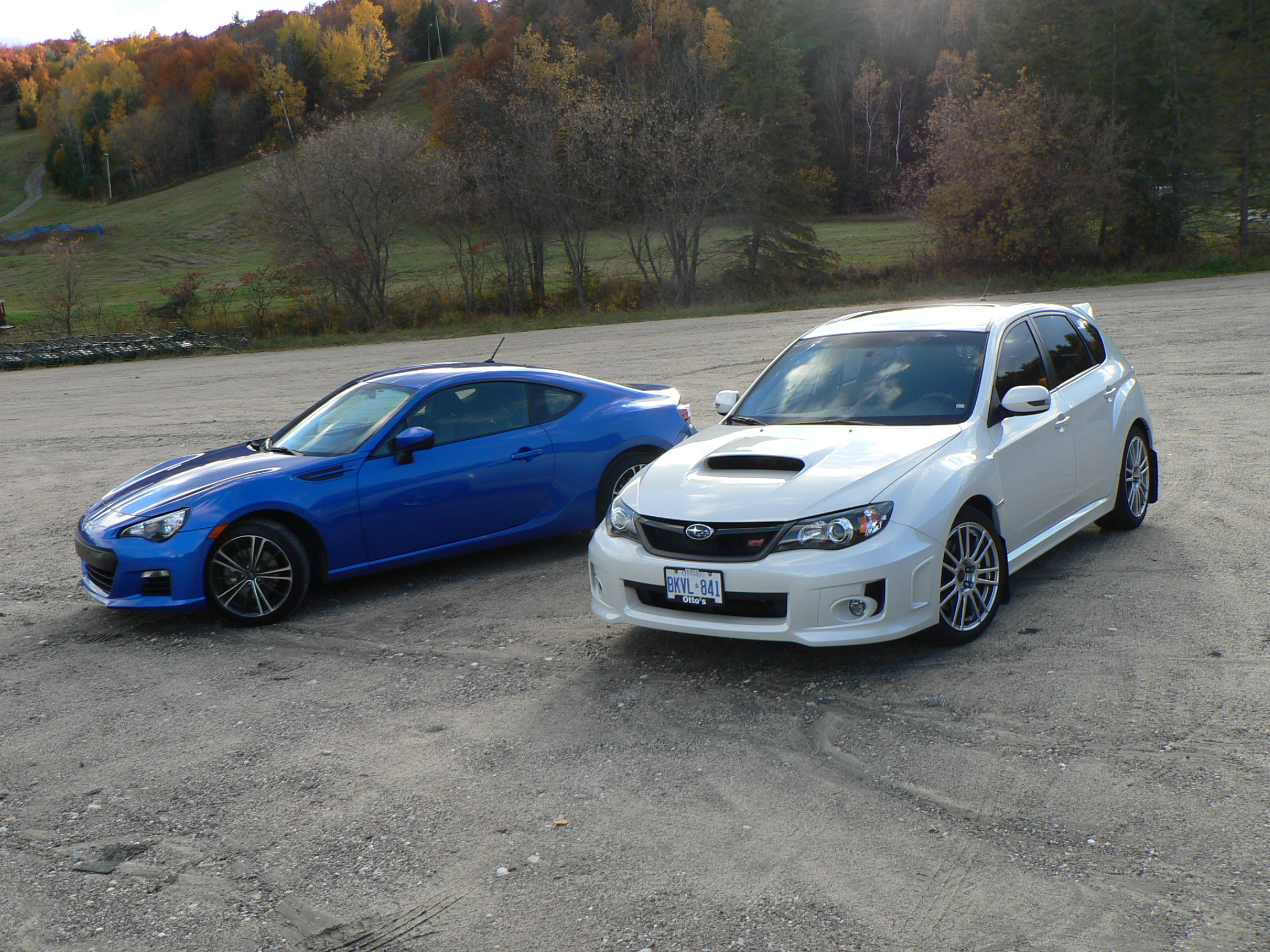 comparo 2013 subaru brz versus 2011 subaru wrx sti john. Black Bedroom Furniture Sets. Home Design Ideas