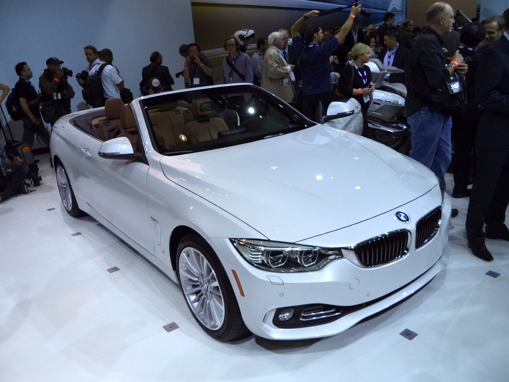 2013 los angeles bmw goes topless 4 series cab electric i8 and quirky concept x4 john. Black Bedroom Furniture Sets. Home Design Ideas