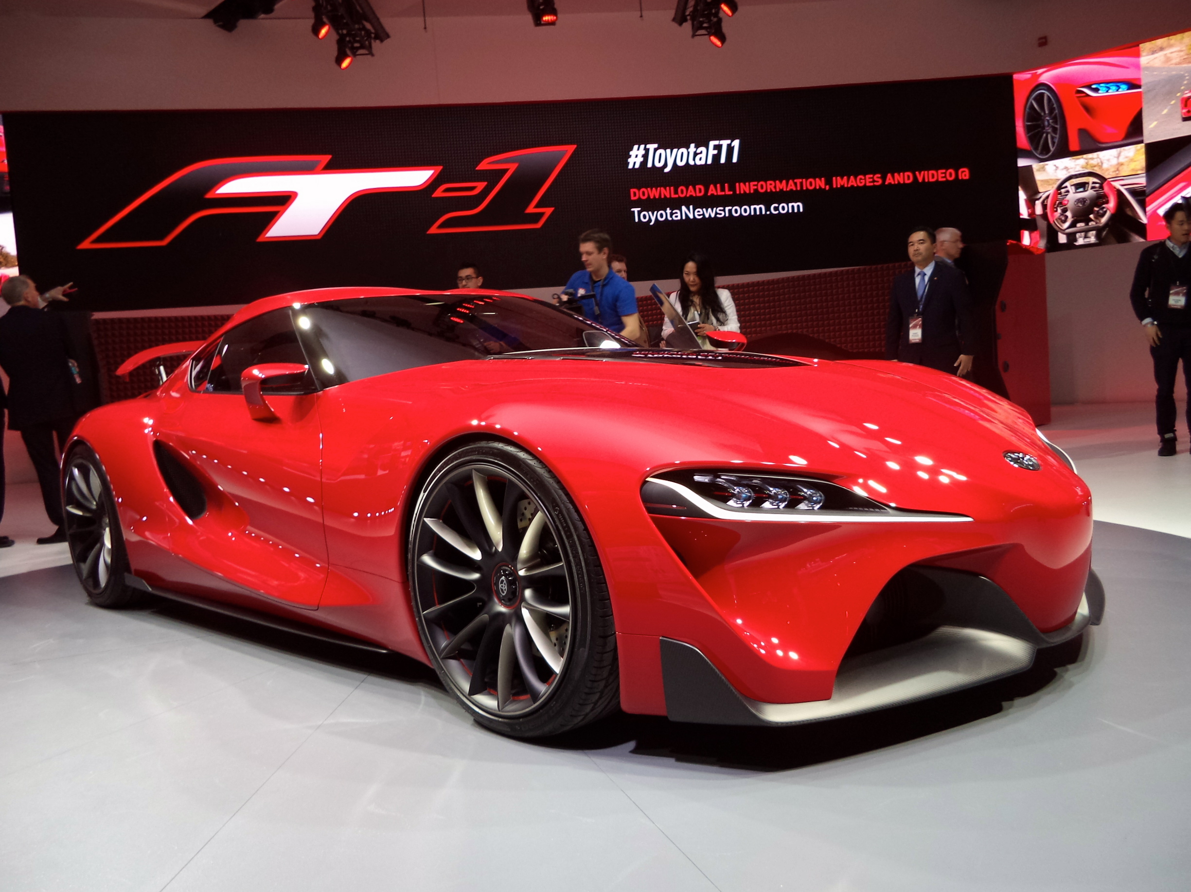 Story And Photos By John LeBlanc DETROIT U2013 While The New Toyota FT 1  Concept Sports Car Can Be Virtually Driven Today, Its Acronym Breaks Down  As U201cFuture ...