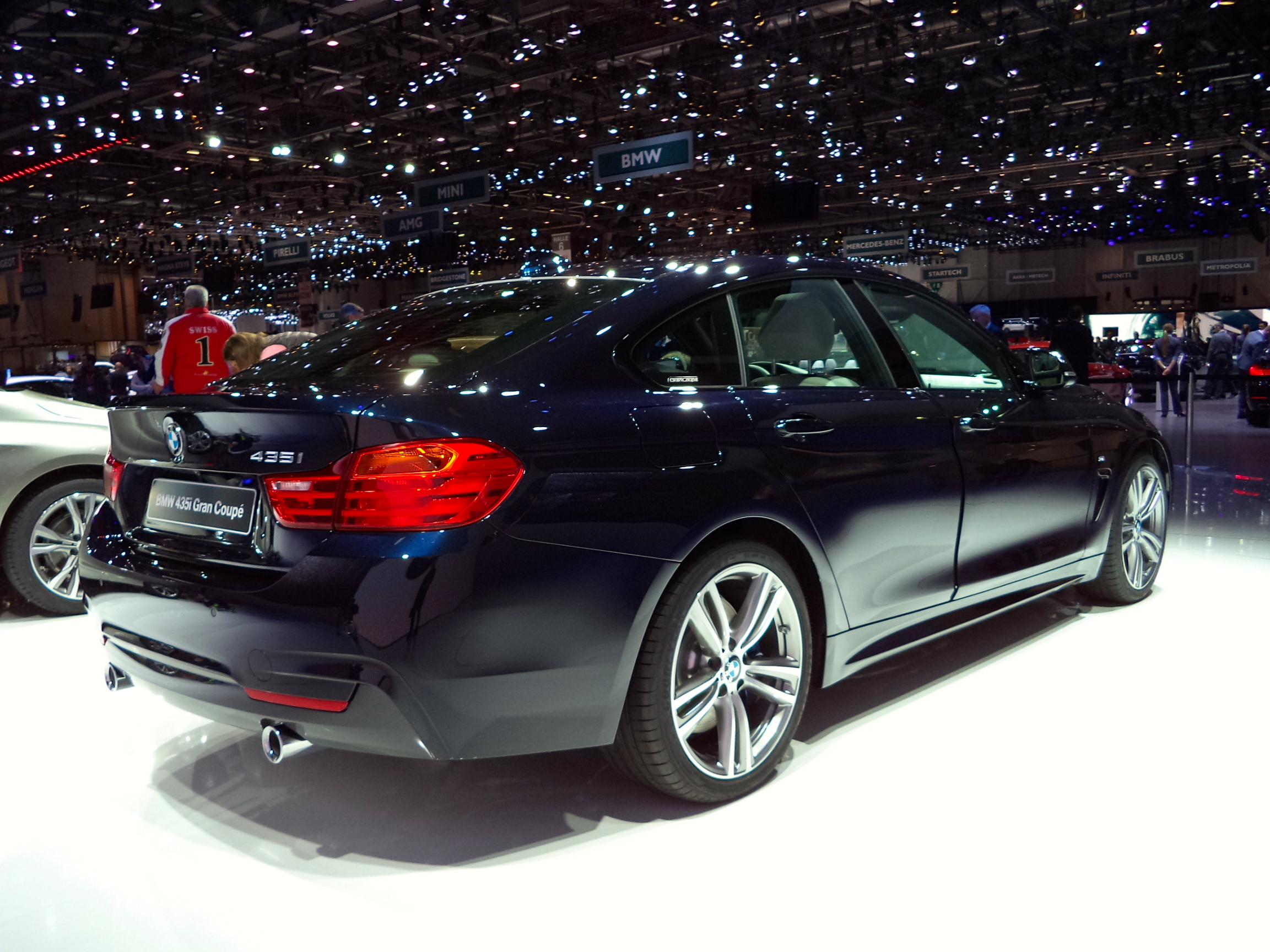 In The Similar Fashion BMWs 6 Series Gran Coupe Splits Difference Between 5 Sedan And Four Passenger 4