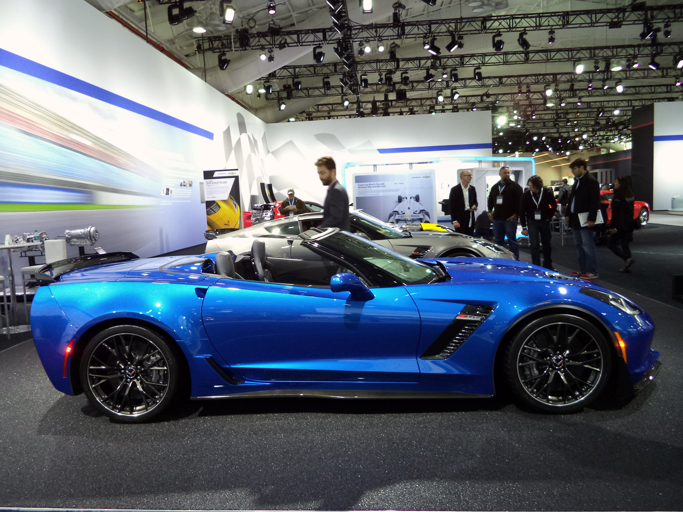 2014 New York 2015 Chevrolet Corvette Z06 Convertible
